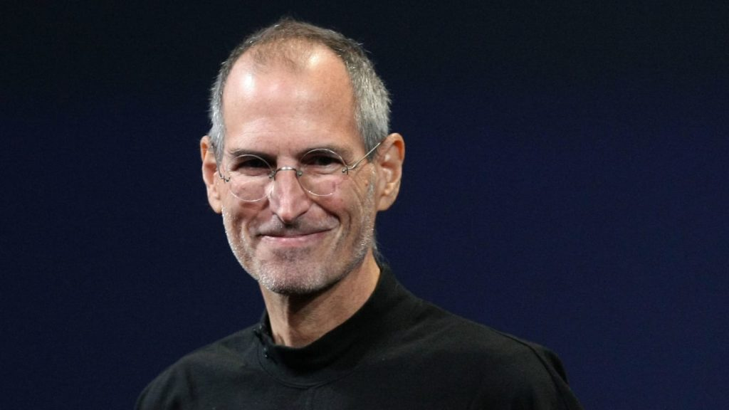 picture of Steve Jobs in his final days.